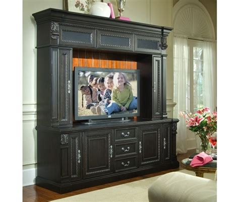 80 inch console weybridge 80 inch tv console hutch in madera cherry and
