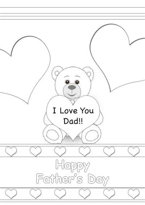 father day cards to color 15 best images about free printable father s day cards on