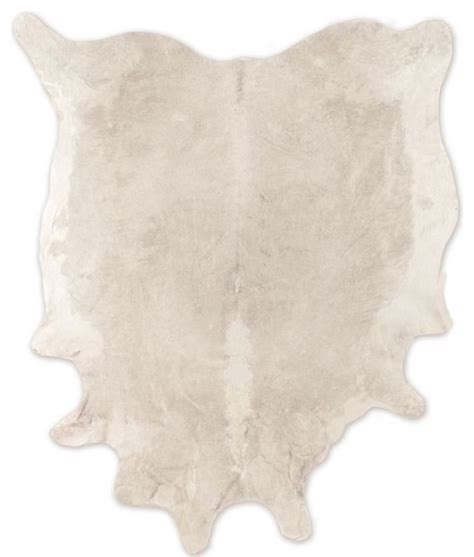 Large White Cowhide Rug Cowhide Rug White Modern Rugs By West Elm