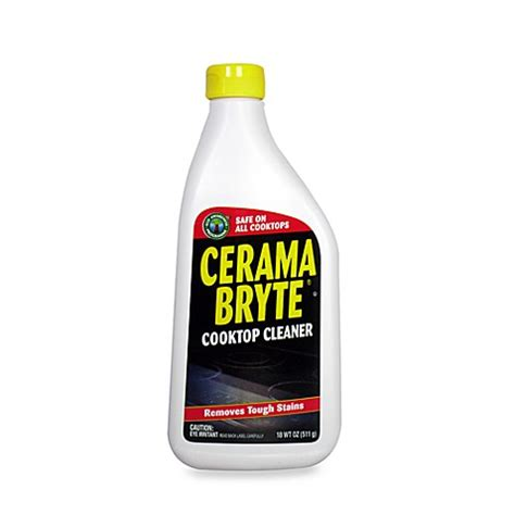 glass ceramic cooktop cleaner cerama bryte 174 glass ceramic cooktop 18 oz cleaner bed