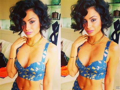 nazanin mandi ethnicity nazanin mandi i love it all the hair crop top
