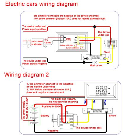 diagram 100014 16 digital ammeter wiring diagram