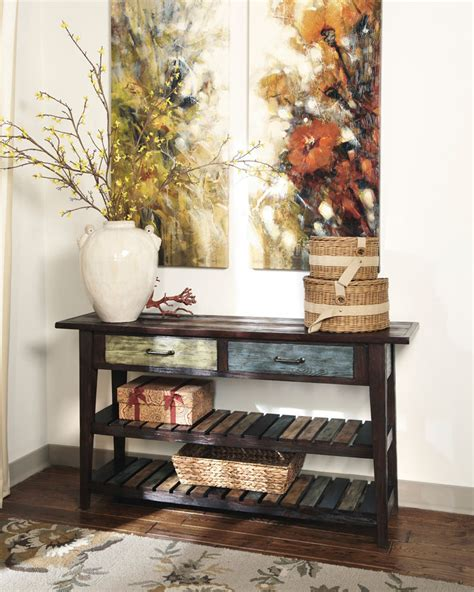 ashley furniture kitchener console table rent to own ashley furniture ottawa