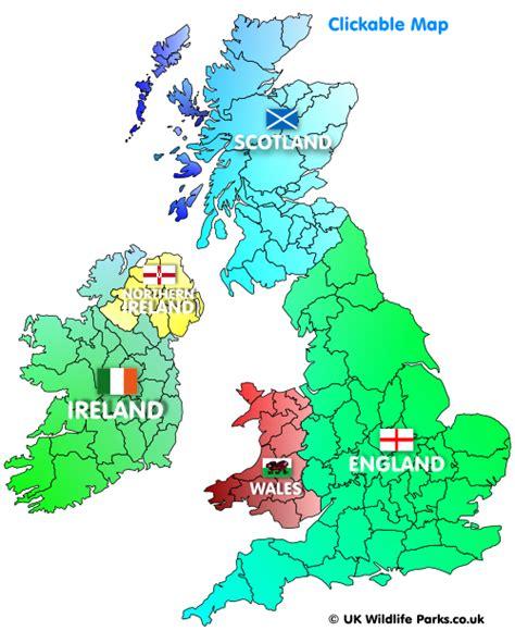 map uk ireland help how to use the uk wildlife parks website