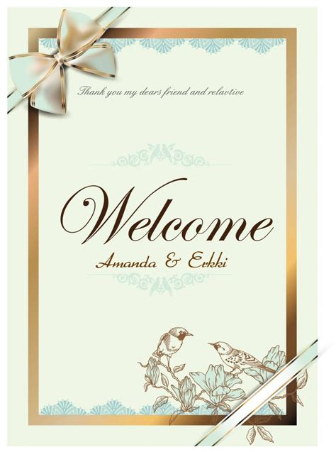 19 wedding psd card templates free download images