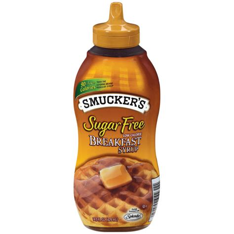 smuckers sugar free breakfast syrup