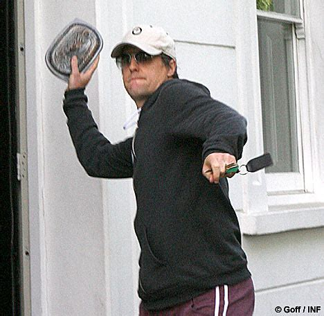 Hugh Grant Arrested For Bean Attack hugh grant arrested for attacking photographer with baked