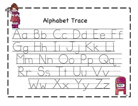 printing alphabet letters worksheet traceable alphabet worksheets activity shelter