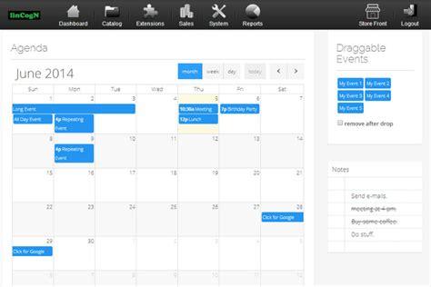 Design Calendar System | lincogndesign com event management system