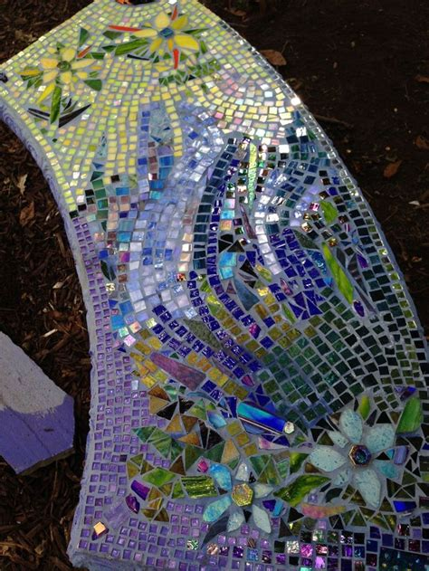 pin  rilda singleton  ment  work mosaic garden art