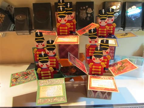 Christmas Gift Card Boxes - calla lily studio blog christmas card in a box