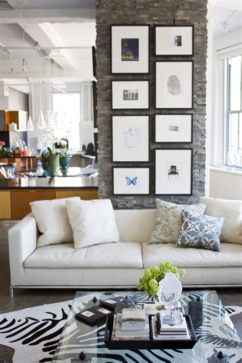 Zebra Rug In Living Room by Home Inspiration On The Squares