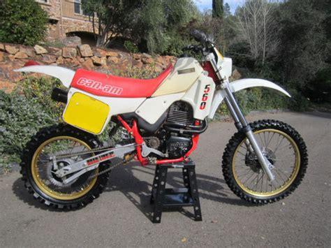 can am motocross bikes vintage can am sonic 560 ultra rare enduro motocross