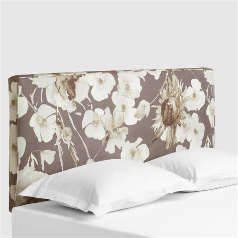 adagio driftwood loran upholstered headboard world market