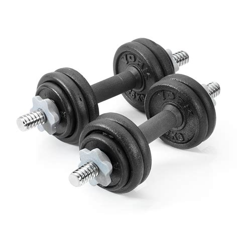 Dumbell 15kg york 15kg cast iron dumbbell set