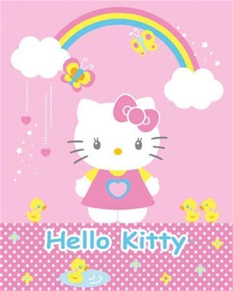 Rainbow Wall Murals under a rainbow hello kitty poster card buy online