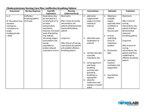 ineffective breathing pattern nurses notes nanda nursing diagnosis ineffective airway medicinebtg com