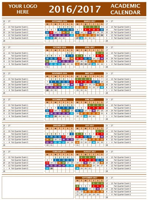 Broward School Calendar 2017 2016 School Calendar Broward County Schools