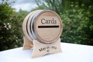 wine barrel wedding card holder card box miniature wine barrel