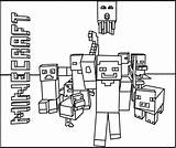 Printable Minecraft Mobs coloring pages. - Coloring Kids