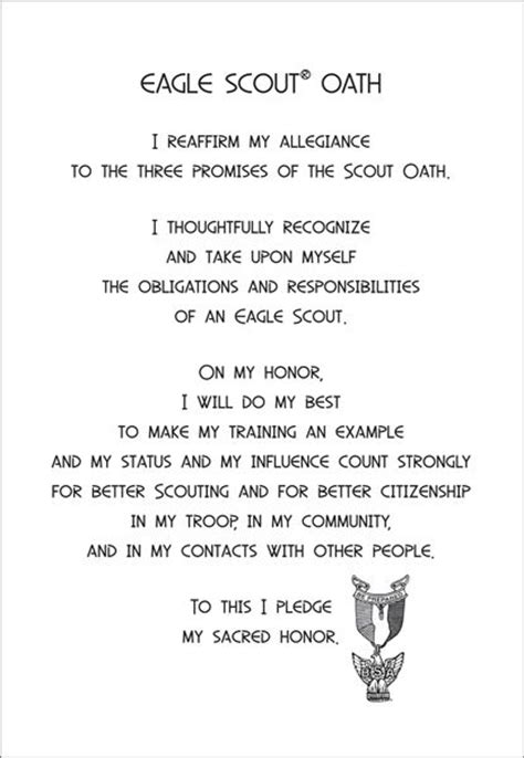 oath of honor blue justice 464 best eagle coh images on eagle scout