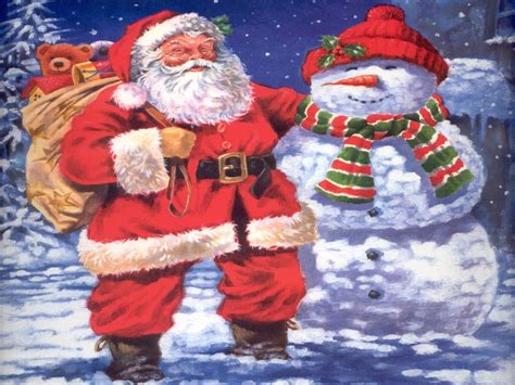 santa claus christmas wallpaper 2736323 fanpop