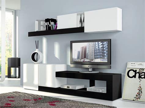 muebles salon modernos blanco mueble sal 243 n oferta blanco y negro nueva colecci 243 n