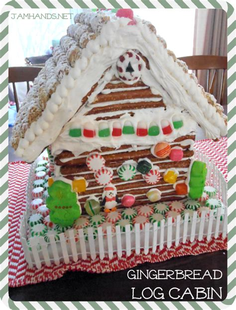 gingerbread log cabin template jam gingerbread log cabin
