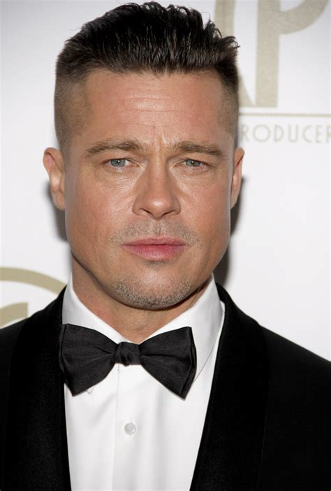 brad pitt with 1930 s haircut