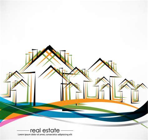 design elements building real estate building design elements vector free vector in