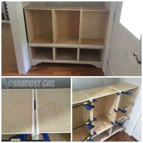 What Screws To Use For Hanging Cabinets by Spax Diy Built In Storage Bench And Cabinet