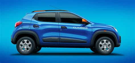 Renault Kwid Climber Colours Electric Blue Carblogindia