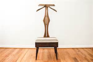 Men s butler with chair furniture valet wood valet stand mid
