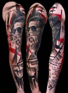 Tattoo style biomechanical tattoos watercolor tattoo style and