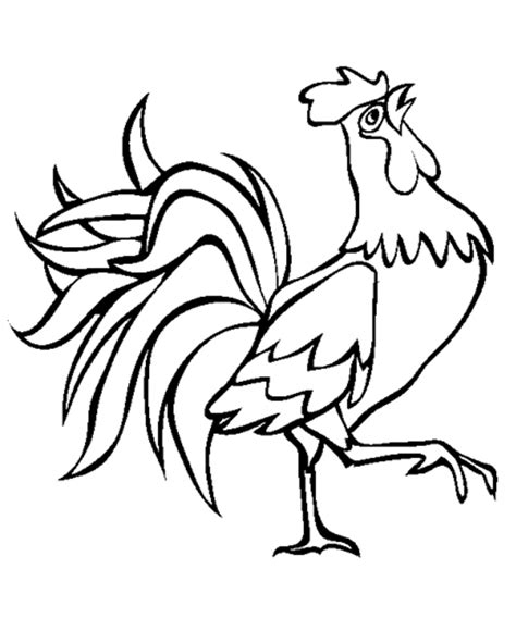 printable rooster stencils rooster coloring pages patterns templates pinterest