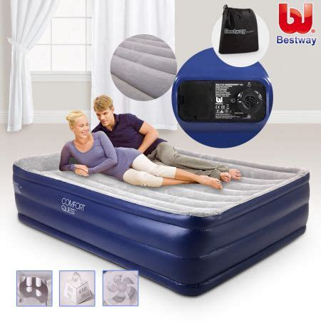 bestway mattress with electric air sales