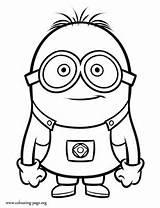 Despicable Me - Minion coloring page
