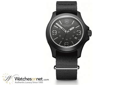 Swiss Army 8697 Black Original victorinox swiss army original 241517 s aluminum quartz