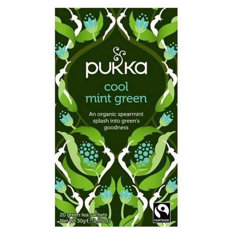 cool green products pukka cool mint green te 216 kologisk 38 00 kr