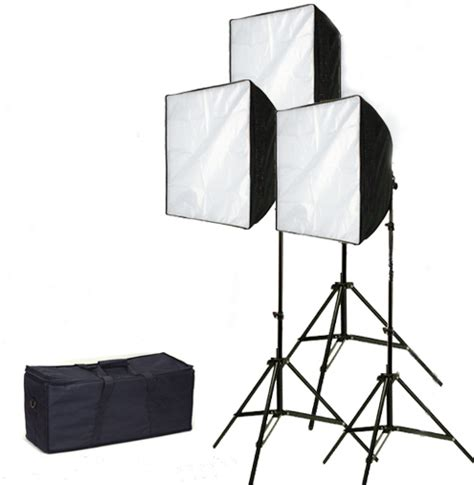 ez softbox lights for lighting kits with easy assembly