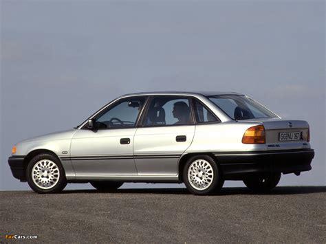 Opel Astra Sedan F 1991 94 Wallpapers 1024x768
