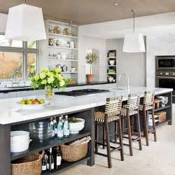 Long Kitchen Islands by 19 Must See Practical Kitchen Island Designs With Seating