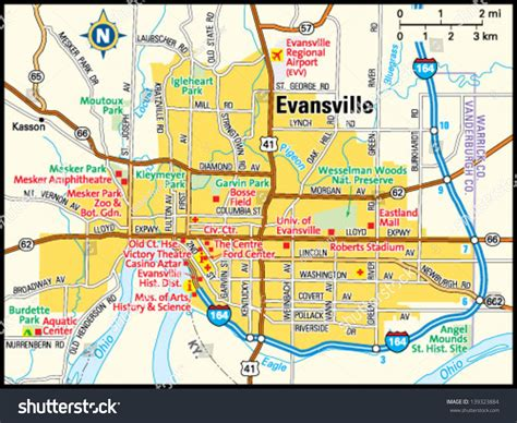map of evansville indiana map of evansville indiana indiana map