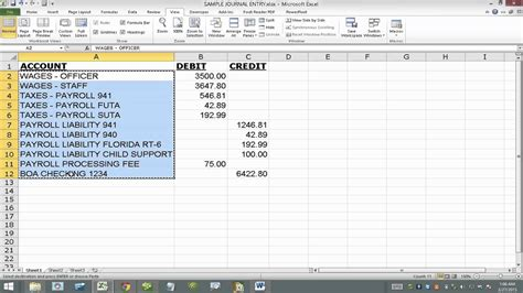 general journal excel template example of cash receipts journal a