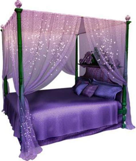 Purple Bed Canopy Magical Purple Canopy Bed Set From Wishwall Me Bedroomlove