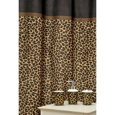 cheetah bathroom 4 piece leopard print bathroom set bathroom ideas