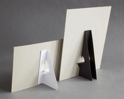 stand up card template part 107403 self sticking cardboard easel 12 quot h