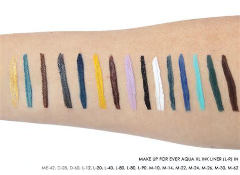 Aqua Xl Ink Liner L 80 introducing the make up for aqua xl ink liner