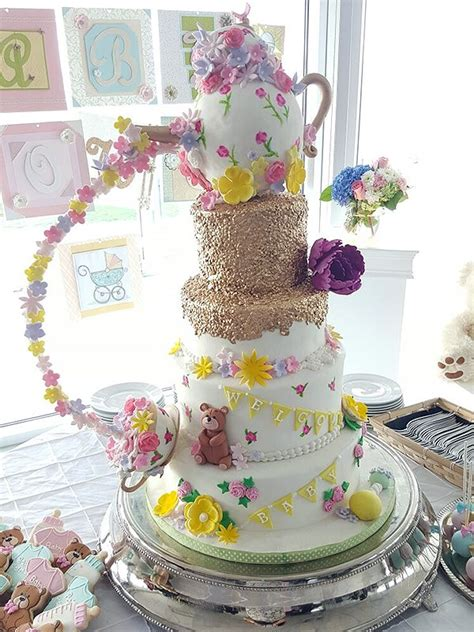 extravagant baby shower cakes 14 extravagant cakes by canadian bakers guyana news and