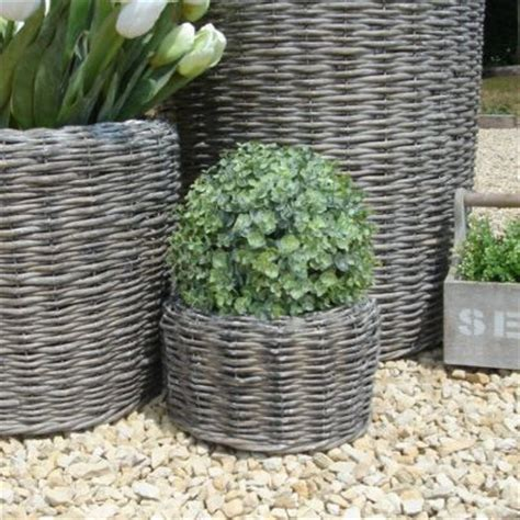 Willow Planters Uk by Small Willow Planter Bliss And Bloom Ltd